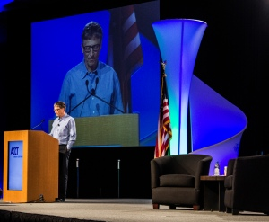 "Bill Gates: ""Community colleges change peoples' lives."""